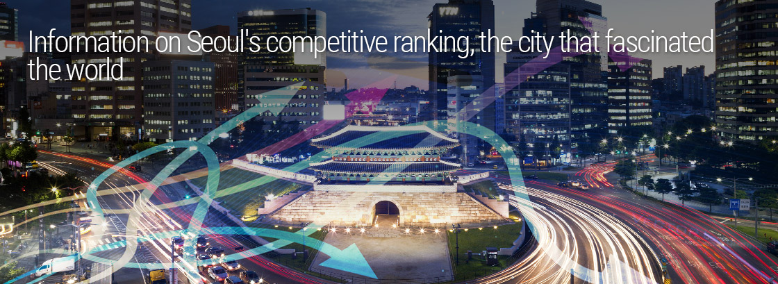 Information on Seoul's competitive ranking, the city that fascinated the world