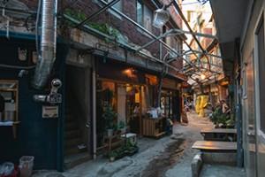 Haebangchon Sinheung Market