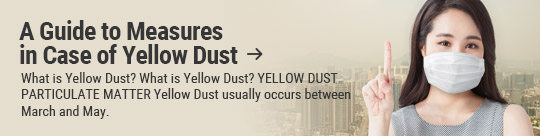 A Guide to Measures in Case of Yellow Dust: What is Yellow Dust? What is Yellow Dust? YELLOW DUST PARTICULATE MATTER Yellow Dust usually occurs between March and May.