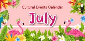 July 2018 Cultural Events