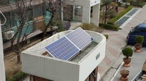 Free Distribution of Mini Solar Panels for Small-scale Apartment Security Rooms