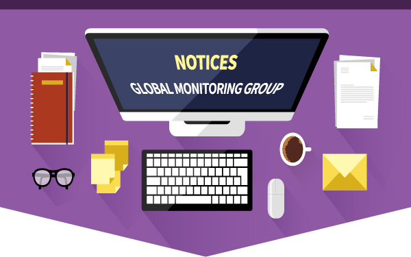 NOTICES GLOBAL MONITORING GROUP