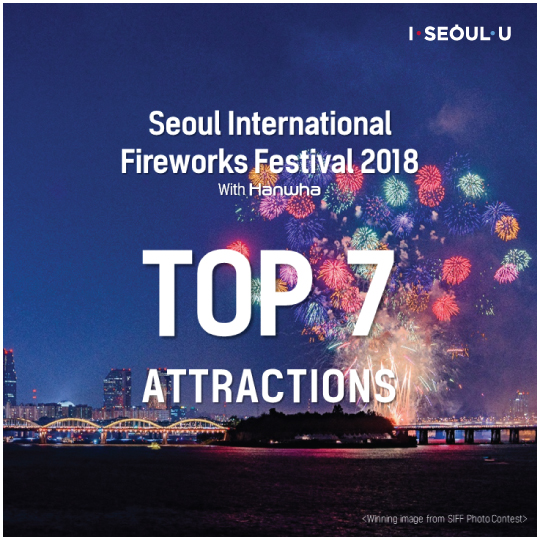 Seoul International Fireworks Festival 2018 With Hanwha Top 7 Attractions