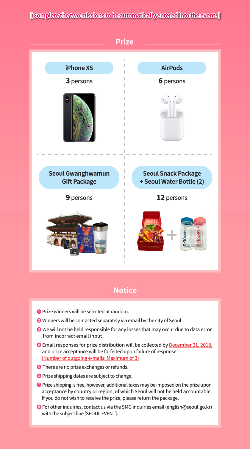Complete the two missions to be automatically entered into the event.