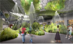 Idle Underground Space of Seoul's Jonggak Station Reborn as Solar-powered Garden