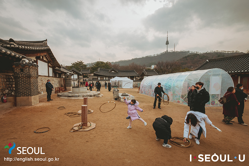 Namsangol Hanok Village New Year's Event