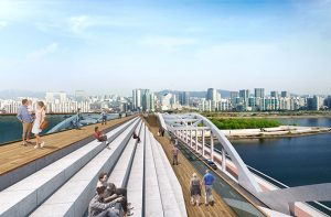 Pedestrian Bridge at Hangangdaegyo Bridge to Reopen after 100 Years in 2021