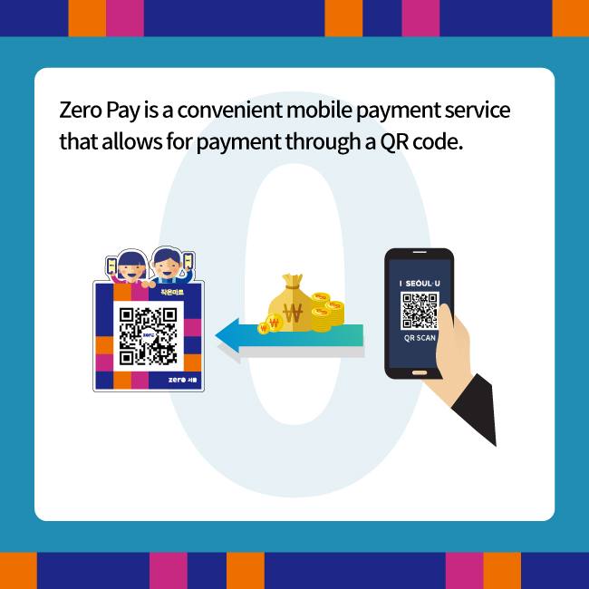 What distinguishes Zero Pay from other mobile payment methods?