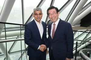Mayors of Seoul and London Discuss Cooperation on Low Emission Zones