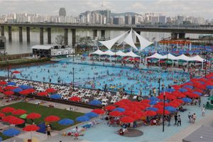 Opening of Hangang Outdoor Swimming Pools