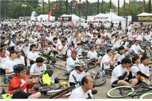 Opening of Seoul Bike Festival 2019