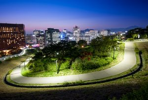 Seoul City Operates Night Hiking Program Following Namsan Dulle-gil Trail