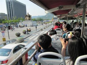 Watch Performances on the Seoul City Tour Bus