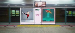 Enjoy Lively Works of Culture and Art in Gongdeok Subway Station