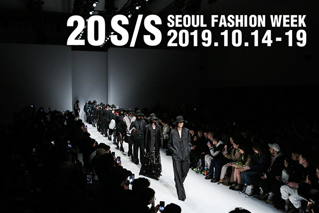 20 S/S SEOUL FASHION WEEK 2019.10.14-19