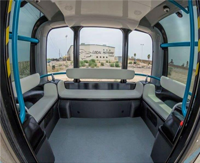 Cases of using data: Autonomously Driving Shuttle Theater