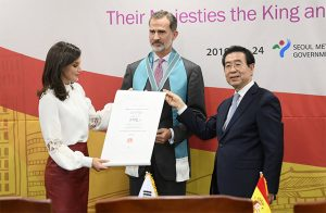 King and Queen of Spain Become Honorary Citizens of Seoul due to Their Interest in Seoul's Policies