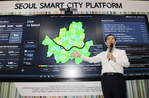 Mayor Park Won-soon Gives Keynote Speech and Introduces Digital Mayor's Office at CES