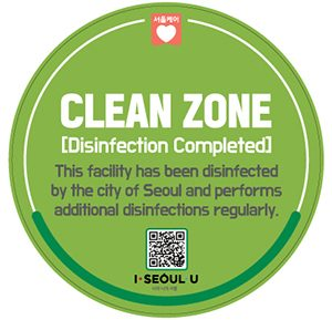 "Seoul Attaches ""CLEAN ZONE"" Stickers on Facilities that can be Used Without Worry about Infection"