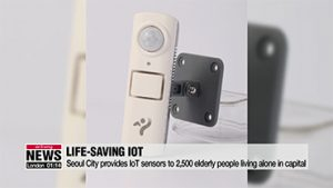 Seoul City provides IoT sensors to 2,500 elderly people living alone in capital
