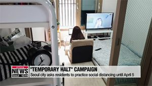 Seoul launches campaign asking residents to keep up their social distancing
