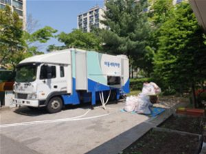 Seoul Washes Duvets for Severely Disabled Individuals and Senior Citizens Living Alone