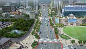 Seoul Turns Sejong-daero into Major 1.5 km Pedestrian Street