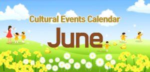 June 2020 Cultural Events
