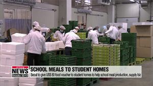Seoul to give US$ 80 food voucher to student homes to help school meal catering businesses