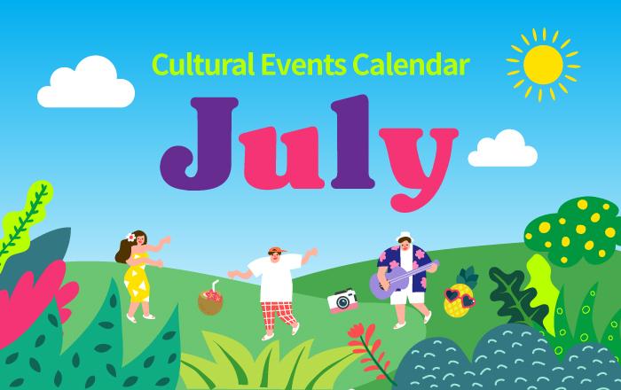 Cultural Events Calendar July