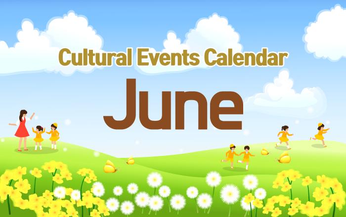 Cultural Events Calendar June