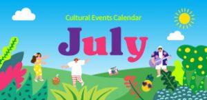 July 2020 Cultural Events