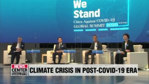 Seoul holds global summit aimed at tackling climate crisis in the post-COVID-19 era