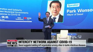 Seoul suggests building int'l organization among cities to tackle infectious diseases