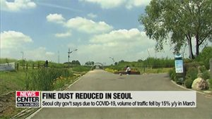 Seoul sees lower fine dust levels in March due to COVID-19
