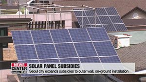 Seoul city expands subsidies for solar panel installation