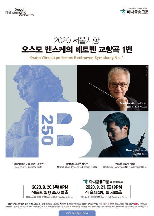 2020 Seoul Philharmonic Orchestra: Osmo Vanska Performs Beethoven Symphony No. 1