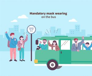 Introduction of the App Report System for Mandatory Mask Wearing on Public Transportation newsletter