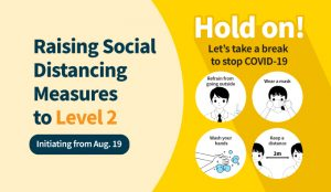 (Seoul & Gyeonggi) Raising the Social Distancing and Disinfection Responding System to Level 2