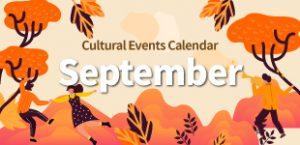 September 2020 Cultural Events
