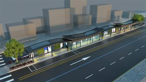 Smart Shelters, Futuristic Bus Stops to Be Installed in Downtown Seoul