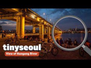 View of Hangang River While Walking Along Its Riverside: Banpo Hangang Park<br /><span style=