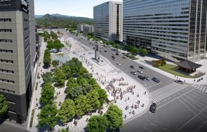 Gwanghwamun Square to Become a Relaxing and Pedestrian-Friendly Area for Citizens