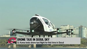 S. Korea tests drone taxi flight for first time in Seoul