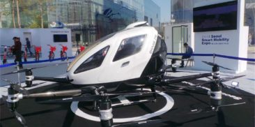 Nation's First Drone Taxi to Transport Passengers in the Sky