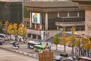 Gwanghwamun Rhapsody: 2020 Outdoor Space Curation of the Sejong Center for the Performing Arts