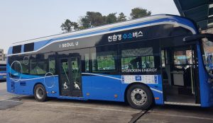 Citywide Operation of Eco-friendly, Hydrogen-powered Buses