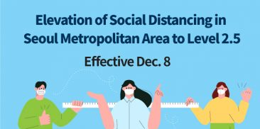 Social Distancing Raised to Level 2.5