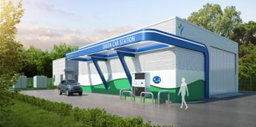 Yangjae Hydrogen Station with More Than Twice the Charging Power