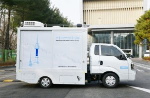 Operation of Seoul Mobile Air Quality Laboratory in Areas with High PM Concentration